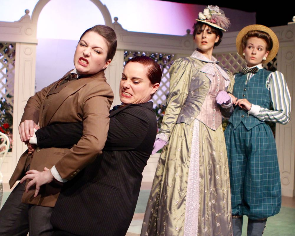 the importance of being earnest women Importance of being earnest | comedy april 5, 2018 - may 12, 2018 book by oscar wilde run time: 2 hours and 15 minutes it's the story of two bachelors, john 'jack' worthing and algernon 'algy' moncrieff, who create alter egos named ernest to escape their tiresome lives they attempt to win the hearts of two women.